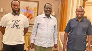 A jet for Raila's return - VIDEO
