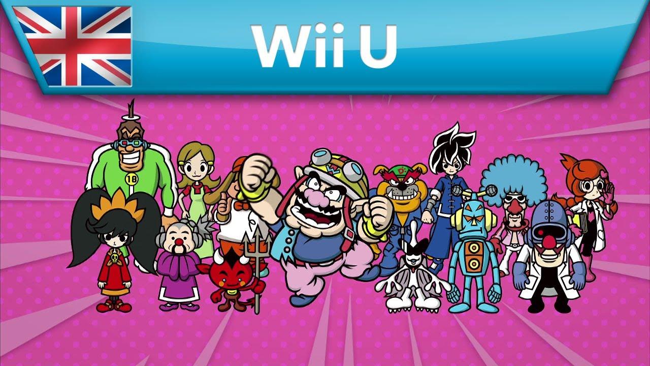 Wii U Game Trailer : Game wario trailer wii u youtube