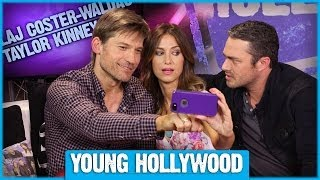 The other woman's nikolaj coster-waldau & taylor kinney reveal most romantic gesture!