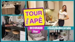 Tour pelo Apê Studio 26m2 #GabyNoDecorado #16 | Gaby Garciia