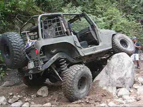 Bender Customs – Colorado 1:1 Trail Ride – Jeep Wranglers Rock Crawling in Carnage Canyon