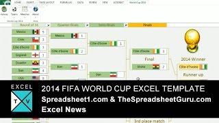 Video 2014 FIFA World Cup Excel Template Spreadsheet - Free download MP3, 3GP, MP4, WEBM, AVI, FLV Januari 2018