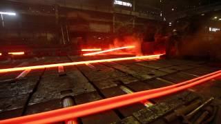 Сделано в Кузбассе HD: Производство швеллера на ГМЗ(ОАО