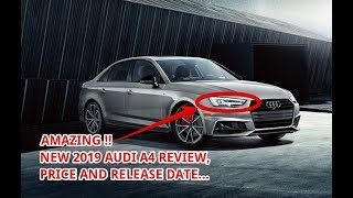 WOW !! 2019 AUDI A4 PRICE