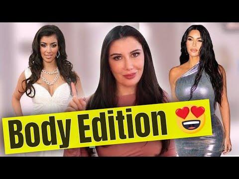 Kim Kardashian: Plastic Surgery (2000-2020)   Body