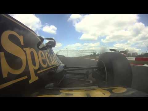 Lotus 92 Nurburgring Oldtimers GP 2013 Part 2