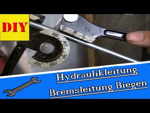 bremsleitung hydraulikleitung rohr biegen bgs 3062 youtube. Black Bedroom Furniture Sets. Home Design Ideas