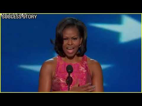 Michelle Obama's speech moves many to tear | Epic Motivation