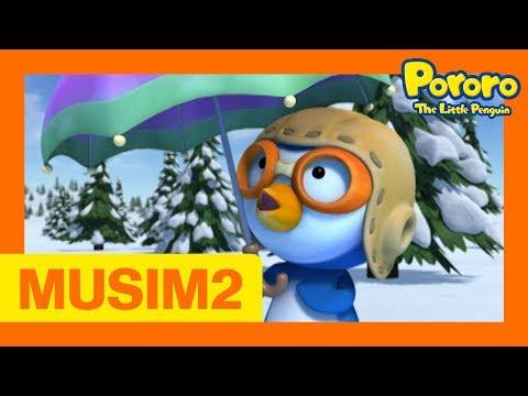 #44 Hari Bersalju   Pororo Si Penguin Kecil Musim 2   Animasi Indonesia