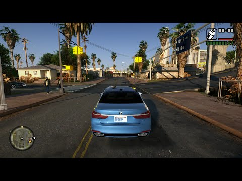 GTA San Andreas Gameplay Walkthrough Part 1 - Grand Theft Auto San Andreas PC 4K 60FPS