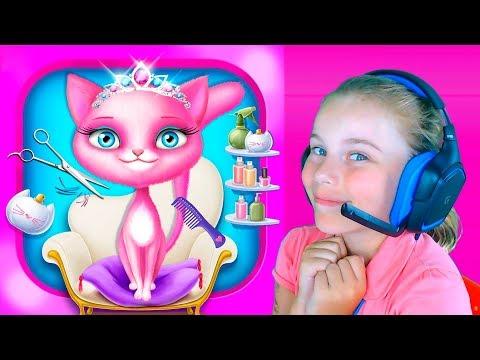 Игры для девочек и мальчиков про уход за животными