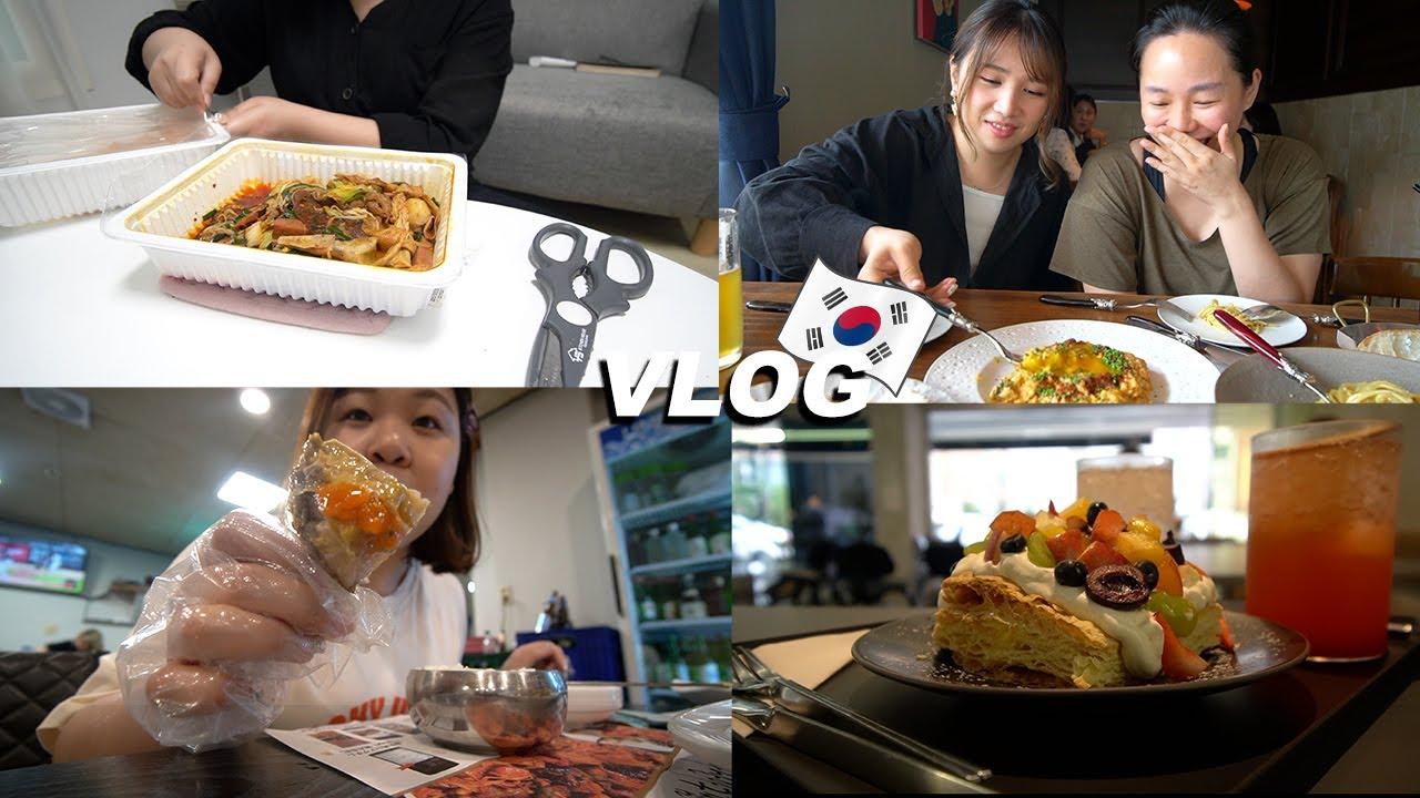 [韓國生活Vlog] 簽新房子約 和朋友們吃喝玩樂意外發現GD的家 1天的伙食費竟然花了10萬韓幣? l Cher is chercher