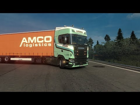 Koblenz(D) to Basel(CH) - Euro Truck Simulator 2 - Promods 2.25 - Scania S High Roof