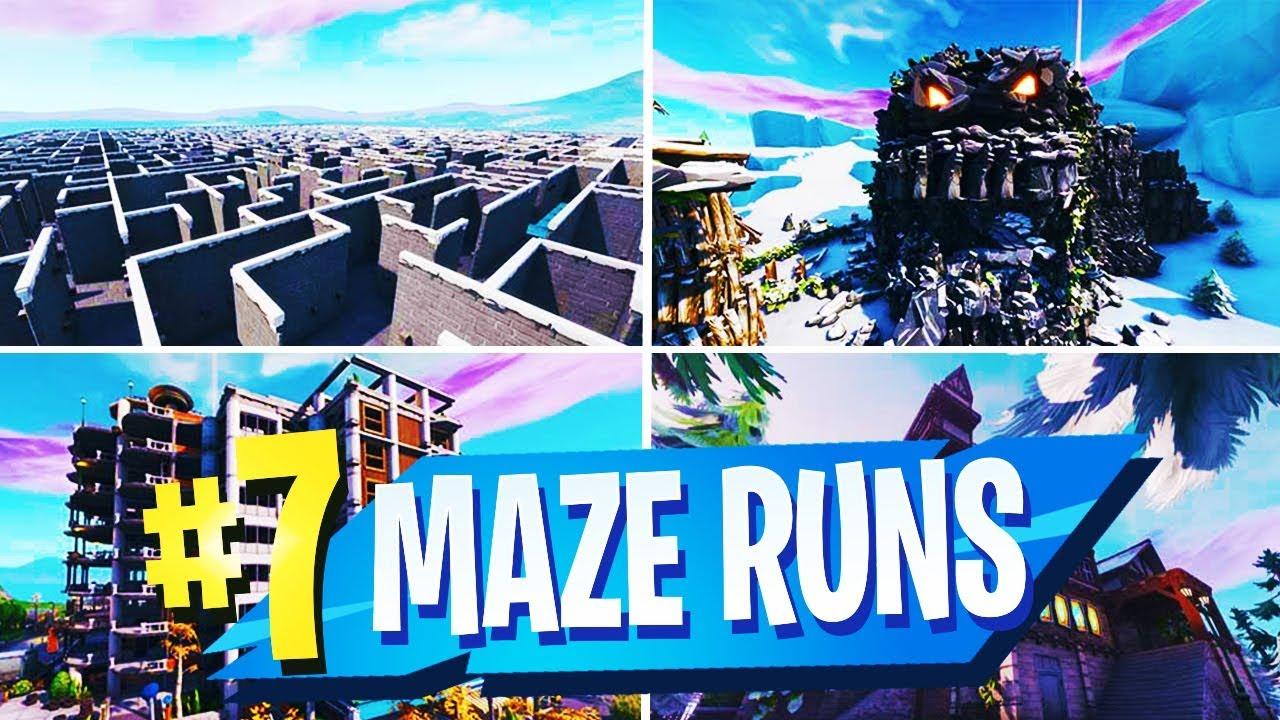 fortnite fortnitecreative fortnitemazerun - maze runner fortnite code poseidon