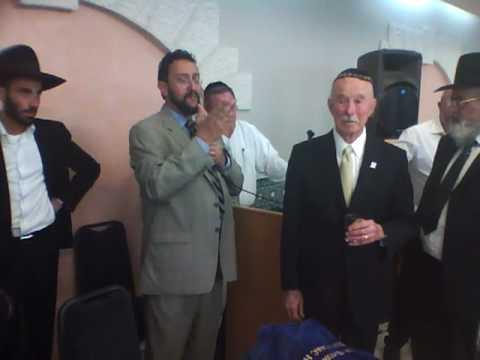 Rabbi Bouskila discusses new Torah dedication to SEC - Part 1