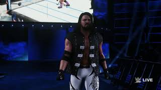 WWE 2K18 Entrance Titantron Movie Create : AJ Styles