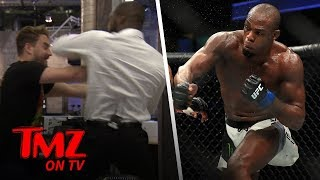 UFC Fighter Jon Jones Almost Kills TMZ Employee | TMZ TV