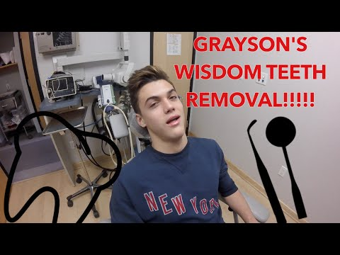 GRAYSON GETS HIS WISDOM TEETH REMOVED!!!!! // DOLAN TWINS