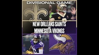 WHY THE SAINTS WILL BEAT THE VIKINGS IN THE DIVISIONAL ROUND