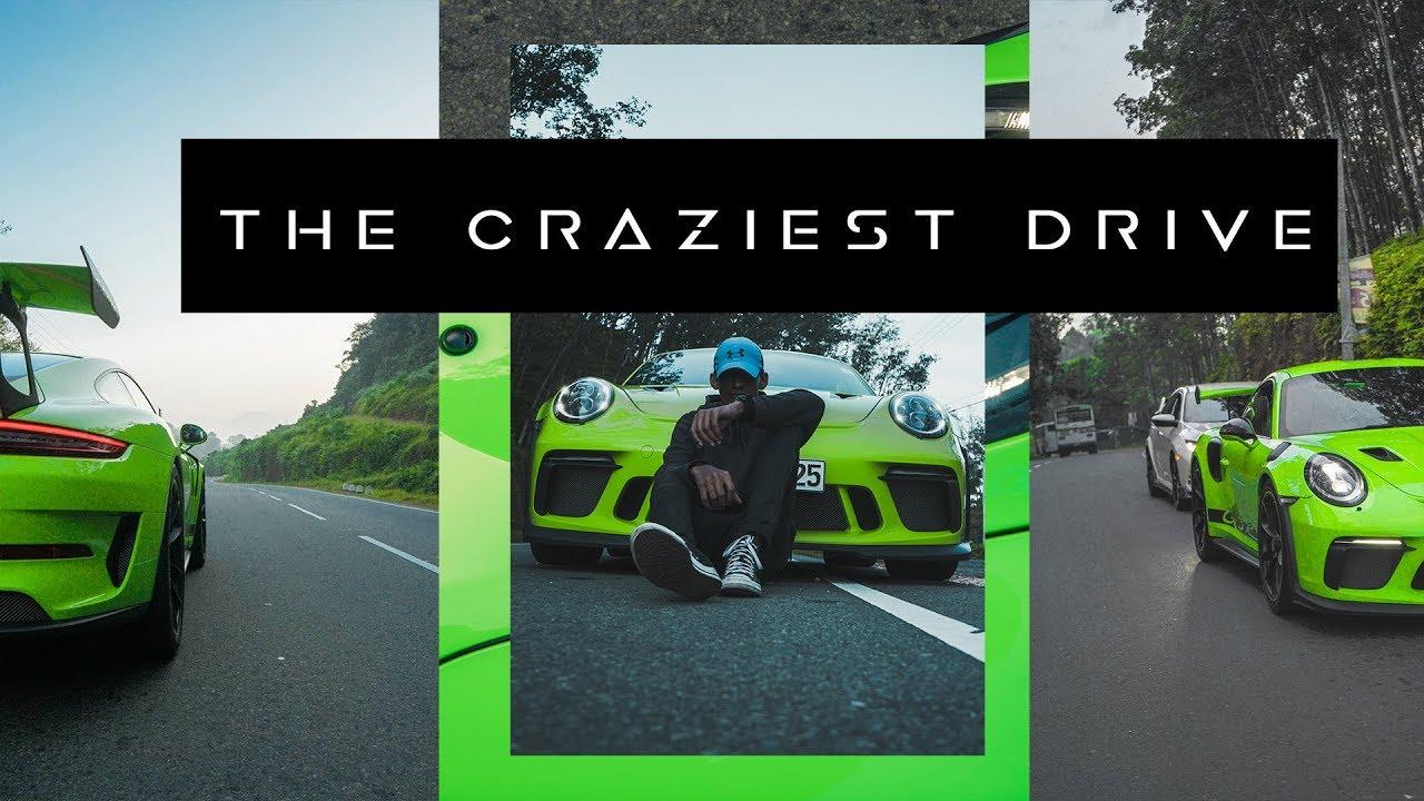 THE CRAZIEST DRIVE !! ft.PORCHE GT3 RS 4K