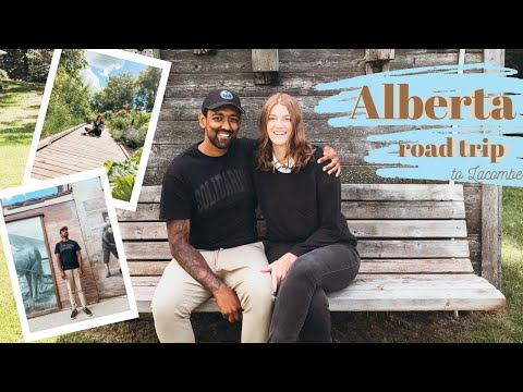 ALBERTA ROAD TRIP / Day Trip From Edmonton To Lacombe