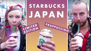 Starbucks Japan: American Cherry Pie Frappuccino Taste Test