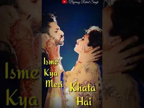 tumhe dekhe meri aankhe /Dulhan WhatsApp status /Old Song Remix/Full Screen Romantic WhatsApp Status