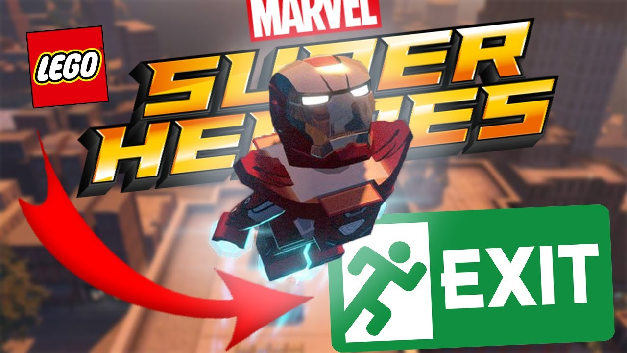 Lego Marvel Super Heroes Getting Out Of Manhattan Youtube