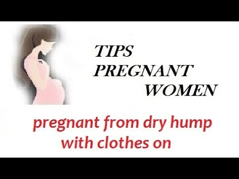 Dry hump with clothes