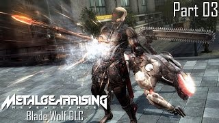Metal Gear Rising: Revengeance - Blade Wolf DLC Part 03 | Too Much Gaming