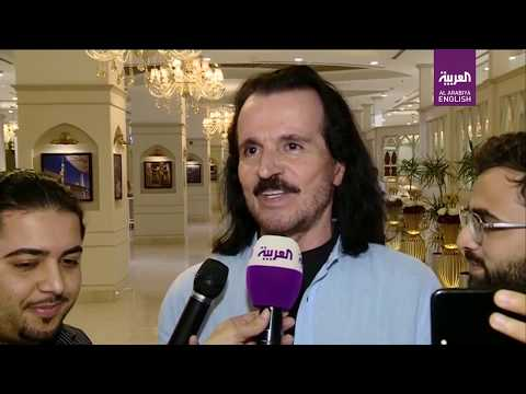 """Yanni said his upcoming concerts in Saudi Arabia were going to be """"history in the making."""""""