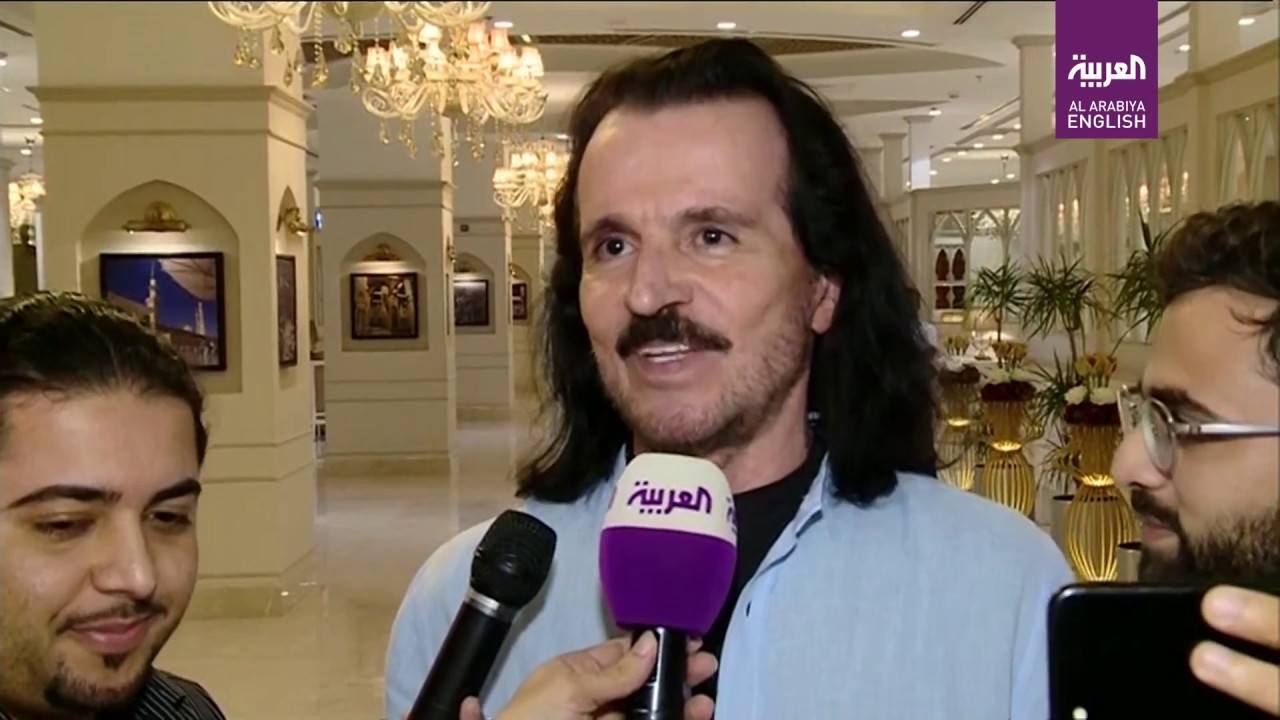 """Yanni said his upcoming concerts in Saudi Arabia were going to be """"history  in the making """""""