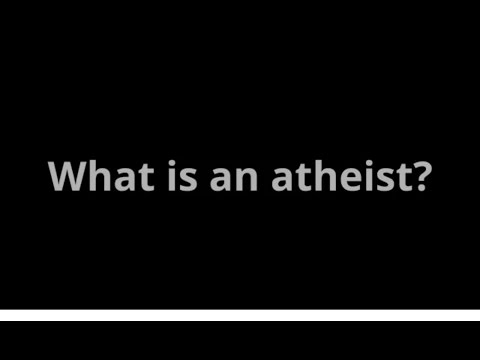 Atheism, Defined Simply