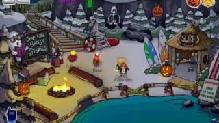 Club Penguin Halloween Party Scavenger Hunt 2008