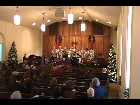 Service 112711 pt 1  lighting 1st Advent candle, opening hymnsMP4