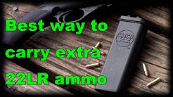 BEST way to carry 22LR or other rimfire ammo Catch22