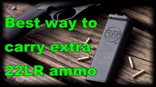 Video BEST way to carry 22LR or other rimfire ammo Catch22 download MP3, 3GP, MP4, WEBM, AVI, FLV Juli 2018