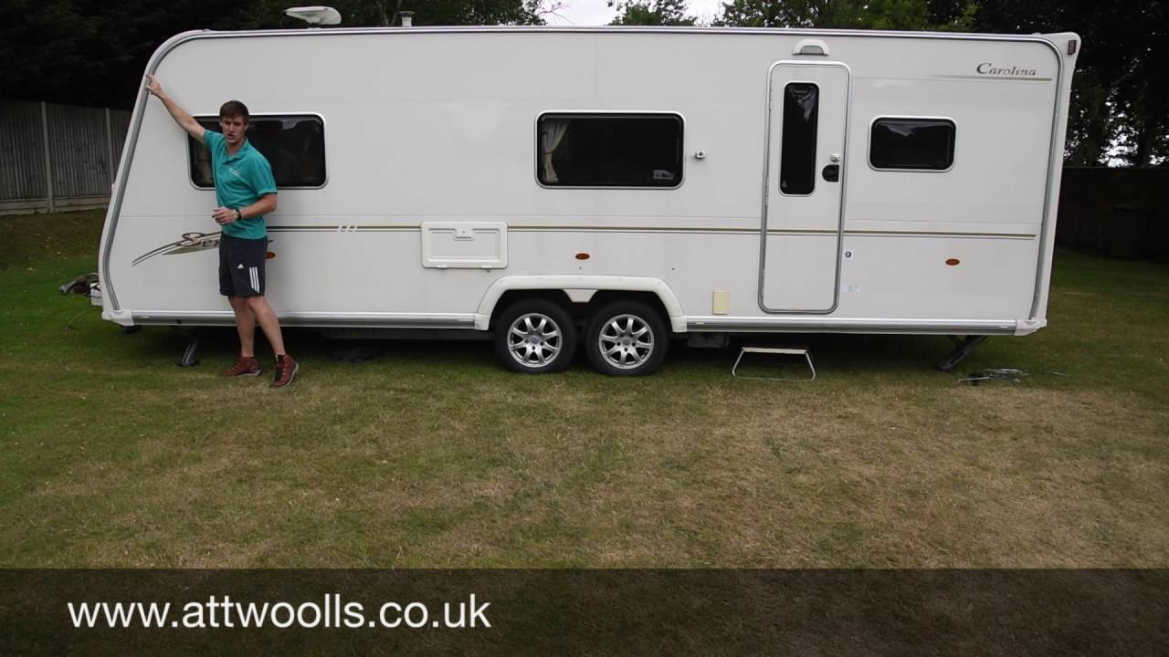 How to Measure your Caravan for a Porch Awning