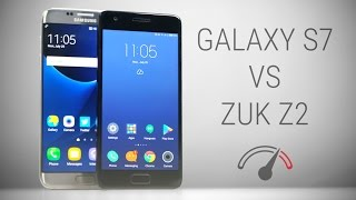 zUK Z2 (Lenovo Z2 Plus) vs Galaxy S7 Edge Speedtest Comparison