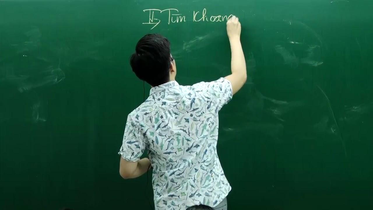 BẤM MÁY TÍNH chương Hàm số Toán 12 _Thầy Nguyễn Quốc Chí