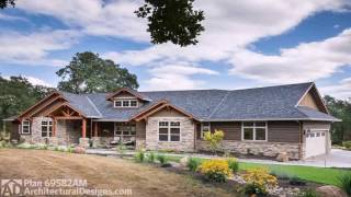 H Style Ranch House Plans