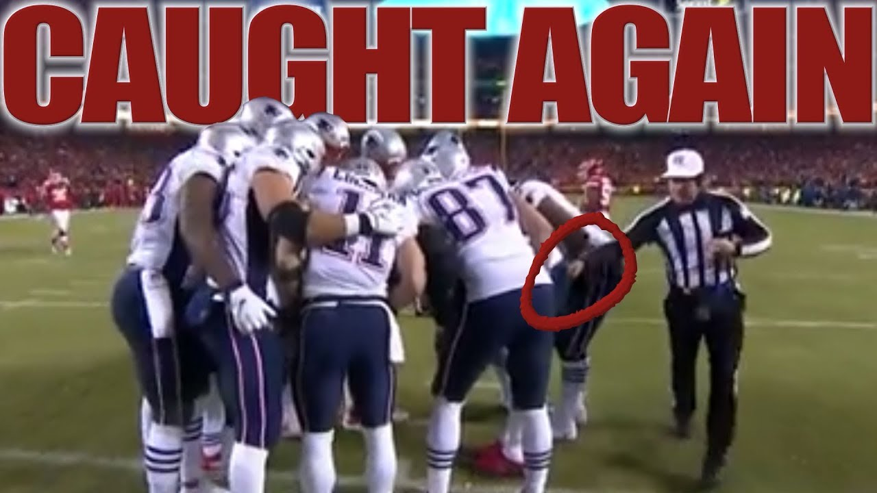 Go Patriots >> Here We Go Again More Proof That The Patriots Cheated Using Referees