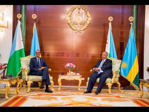 RWANDA & DJIBOUTI SHARE CLOSE BILATERAL TIES