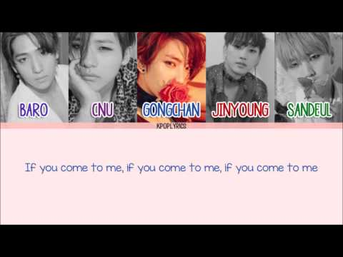 B1A4 - Wait [Eng/Rom/Han] Picture + Color Coded HD