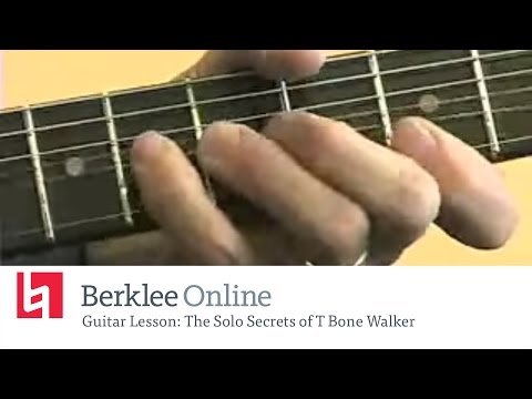 Blues Guitar Lesson: The Solo Secrets of T Bone Walker