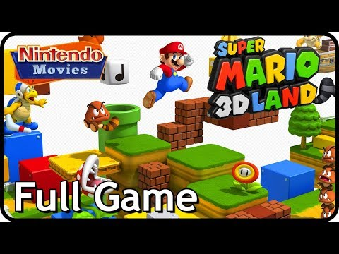 Super Mario 3D Land - Full Game (Complete 100% Walkthrough)