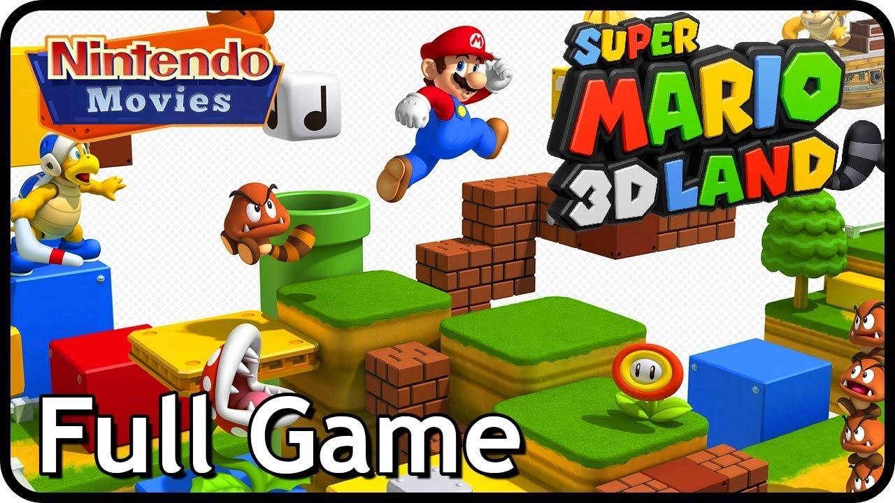 Super Mario 3d Land Full Game Complete 100 Walkthrough Youtube