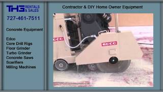 Concrete Equipment, THG Rental and Sales, Equipment Rental Clearwater