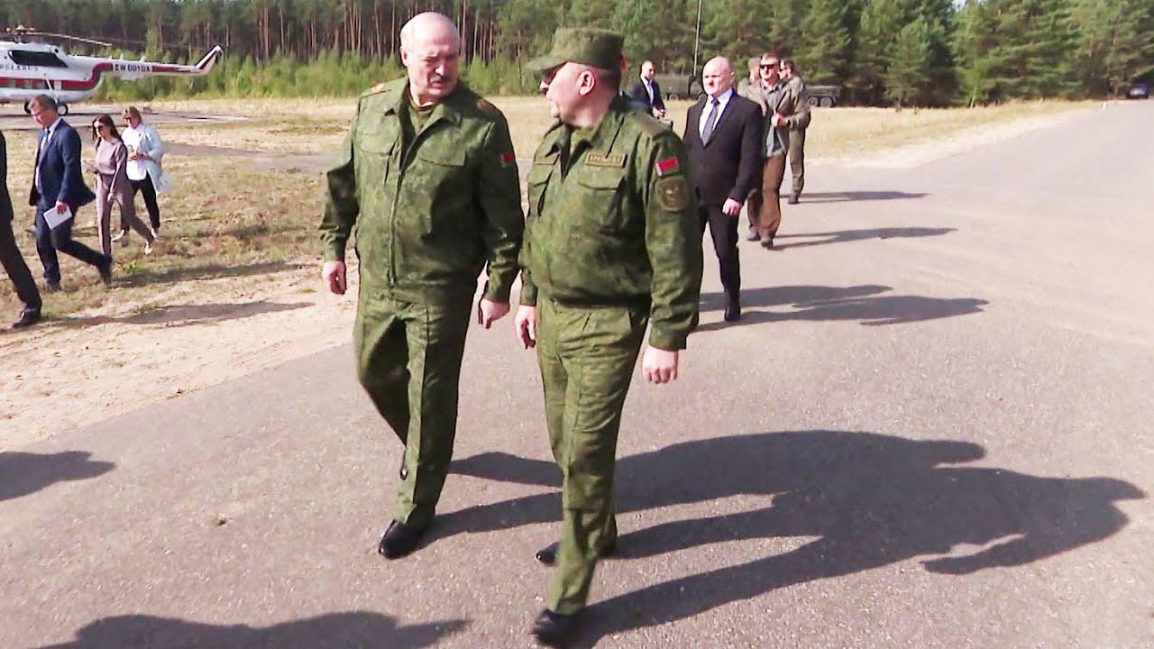 Лукашенко: Они вводят войска – и на Беларуси можно поставить крест!