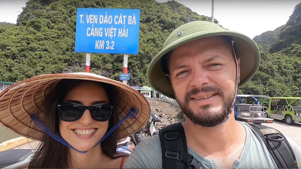 Ne-am cazat pe o insula izolata, bombardata de americani | Cat Ba, Vietnam ??